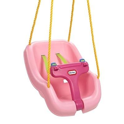 Little Tikes 2-in-1 Snug N Secure Swing-Pink: Toys & Games