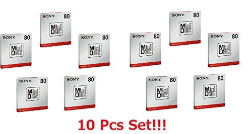 [10 Pcs Set] Sony MD80 Blank M