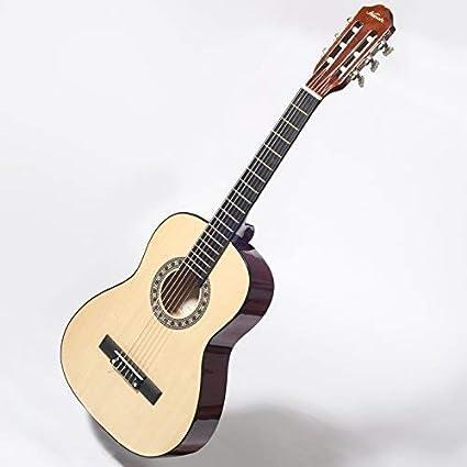 De ceiba LC14 3/4 Guitarra acústica para zurdos unidades para niños principiantes 9 A