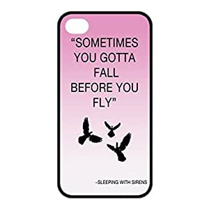 Sleeping With Sirens ~ Image Design Hard Back Case cover skin for Apple Iphone 4 4S