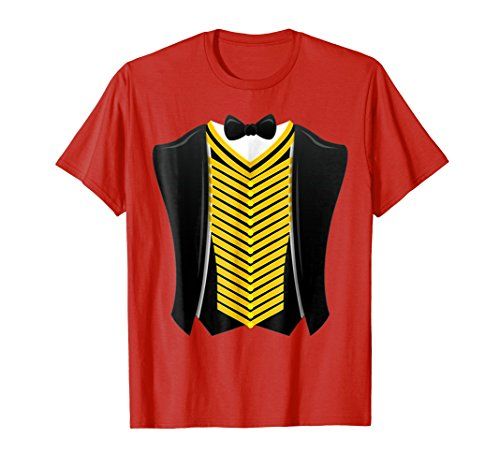 Ringmaster Shirt Circus Showman Costume]()
