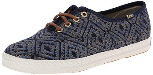 Keds Dameskampioen Metallic Fashion Sneaker Blauw