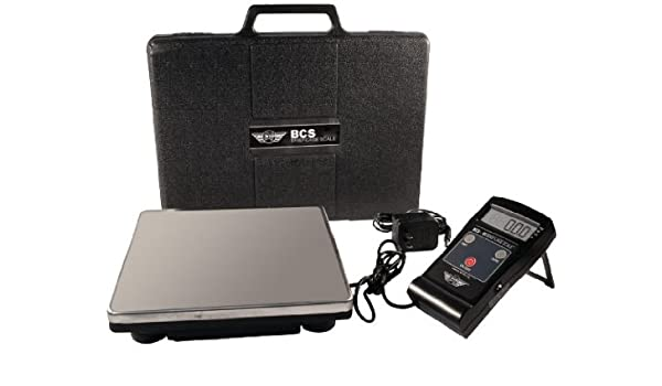 b818f90fa2d7 Amazon.com : My Weigh BCS-80 Portable Shipping Scale With Case by My ...