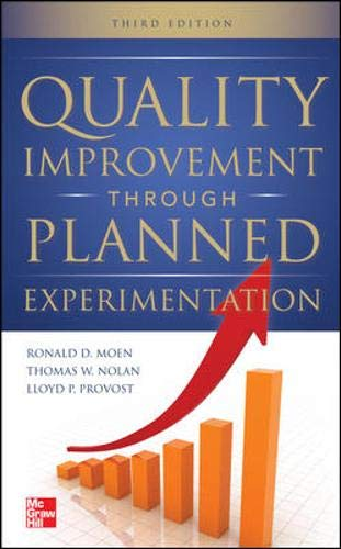 Quality Improvement Through Planned Experimentation 3/E (Method Analysis In Production And Operation Management)