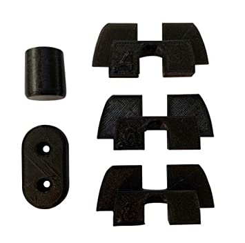 Formable Tech Accessories Pack for Xiaomi MiJia M365 Electric Scooter - Includes Vibration Dampeners (3 Sizes), Tail Light Wire Protector, and ...