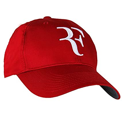 Amazon.com   Nike RF Federer Dri Fit Tennis Cap 2013 Gym Red White ... c9f07e42464