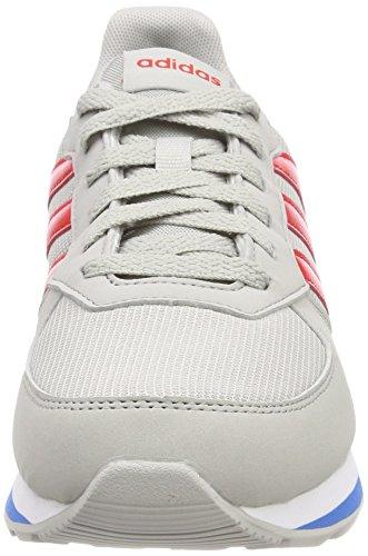 Mixte Adidas Enfant Azubri 8k 000 gridos Basses Rojbas Gris Sneakers 1axtTa