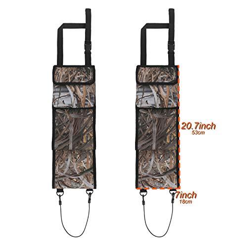 mydays Seat Back Gun Rack, Gun Sling Bag, Camo Front Seat Gun Organizer Holder for Hunting Rifles/Shotguns(Camo)