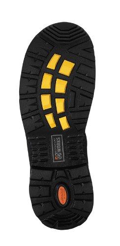 "Rockport RK6628 More Energy 6"" Plain Toe Waterproof Work Boot Composite Toe"