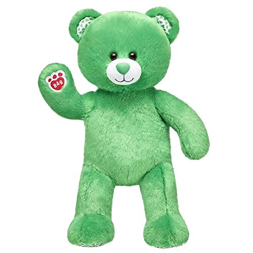 BABW Stuffed with Hugs and Good Wishes! St. Patrick's Day Irish Green Shamrock Teddy Plush Toy 16