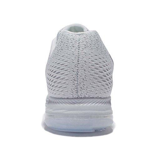 Nike Womens Zoom All Out Scarpe Basse Da Corsa Platino Puro / Grigio Freddo