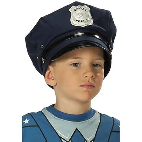 carnevale ed accessori Rubies cappello della polizia  Amazon.it ... f62d7a30ebcf