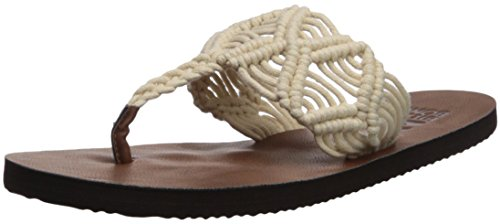 Billabong Donna Con Sandalo Piatto, Naturale, 10 M Us