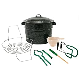 Granite Ware F0710-2 Canning Set, 8-Piece, Black