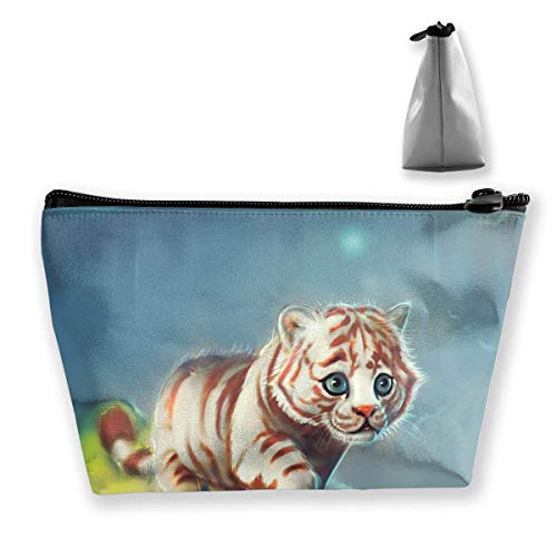 Makeup Bag Cosmetic Tiger Baby Portable Cosmetic Bag