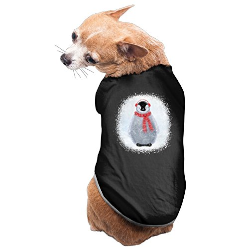 [NEW Dog Apparel 100% Fleece Chilly Little Penguin Dog Carriers] (2 Elves Dog Costume)