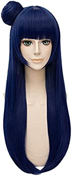LanTing Parrucca Per/ücke LoveLive!Sunshine! Kunikida Hanamaru Brown Long Cosplay Party Fashion Anime Human Kost/üm Full Wigs Synthetic Haar Heat Resistant Fiber Haar
