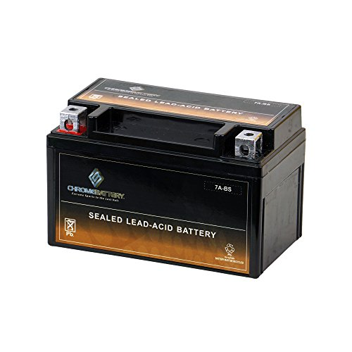 Chrome Battery YTX7A-BS AGM Battery