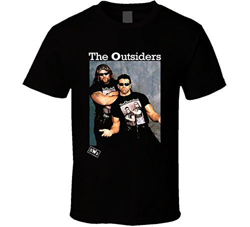 Perfect Fit T Shirts Outsiders NWO Wrestling T Shirt 3XL Black by Perfect Fit T Shirts