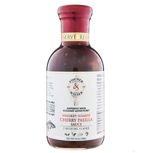 - Whiskey Soaked Cherry Pasilla Sauce (13.5 ounce)