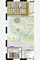 Streetwise Barcelona Map - Laminated City Center Street Map of Barcelona, Spain (Michelin Streetwise Maps) Map