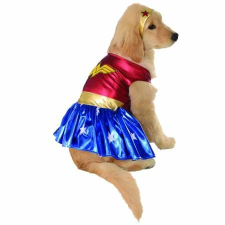 Rubie's Wonder Woman Dog Costume Large ()