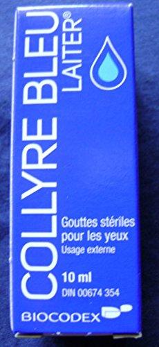Gouttes d'origine Laiter Collyre Bleu yeux 10 ml