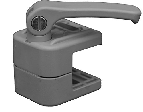 Koala Clamp: The Non-marring locking accessory clamp for Pontoon Boats: Thousands of uses! Rail Mount Fender Line Clip