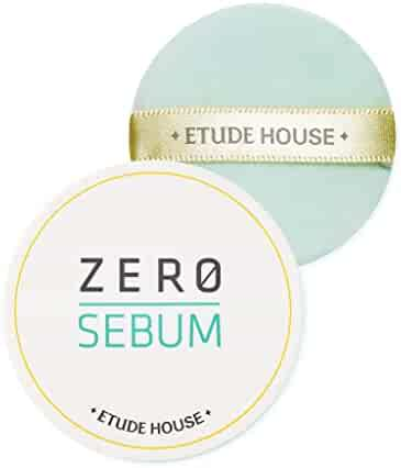 ETUDE HOUSE Zero Sebum Drying Powder - Oil Control No Sebum Powder with 80% Mineral, Makes Skin Downy
