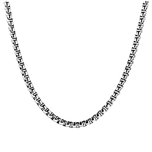 Best Epic Trends 41YwdZDxOdL._SS300_ SANNYRA 2mm-7mm 16-38In Stainless Steel Rolo Chain Necklace Crude Chain Necklace for Men Women Jewelry