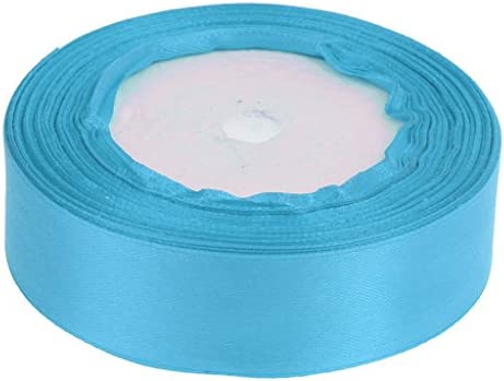 サテンリボン サテン リボン DIY パッキング インテリア 飾り 芸術 工芸品 縫製 ギフト包装 多色選べ - レイクブルー