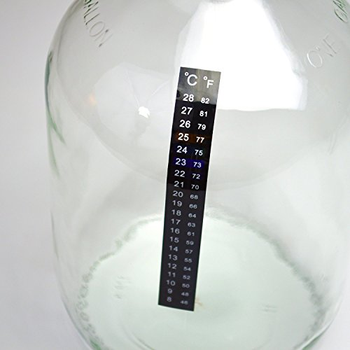 Fermenter Adhesive Crystal Thermometer 46 82F