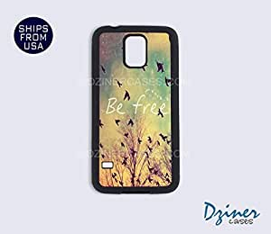 Galaxy S5 Case - Vintage Be Free by mcsharks