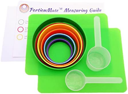 PortionMate Deluxe - Meal Portion Control Rings and Nutrition Tool 3