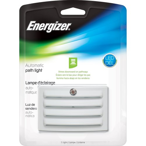 Energizer ENLPLVCW Vented Automatic Path Light, White