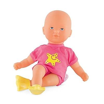 Corolle Mon Premier Poupon Mini Bath Pink Toy Baby Doll: Toys & Games