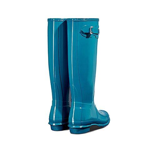 Gloss Womens Original Tall Hunter Boots Ocean Synthetic fpTqW