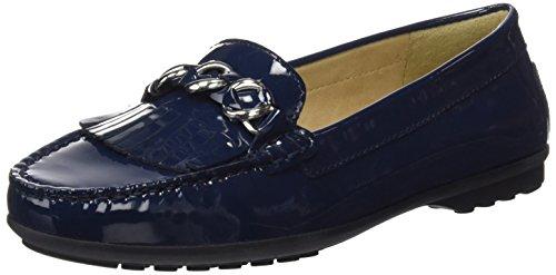 Elidia Azul Para Mujer Mocasines D A Geox navy 6WTUApqAw