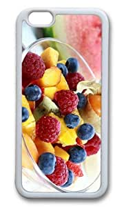 MOKSHOP Adorable fruits salad Soft Case Protective Shell Cell Phone Cover For Apple Iphone 6 (4.7 Inch) - TPU White