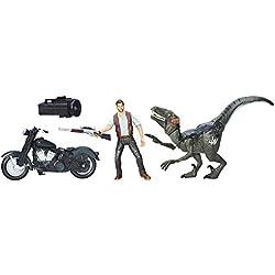Jurassic Park Alpha Cycle & Hybrid Raptor Pack