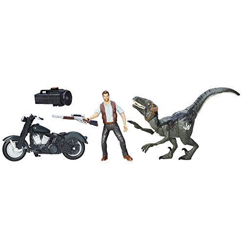 Jurassic Park Alpha Cycle & Hybrid Raptor Pack]()