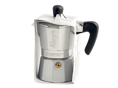 Bialetti 6012 Allegra Espresso Maker, Silver