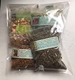 Herbs and Resins for Incense: 4 Dried Herbs ~ 2 Resins ~ 1/2 oz ea ~ Ravenz Roost Herbs ~ Make your Incense