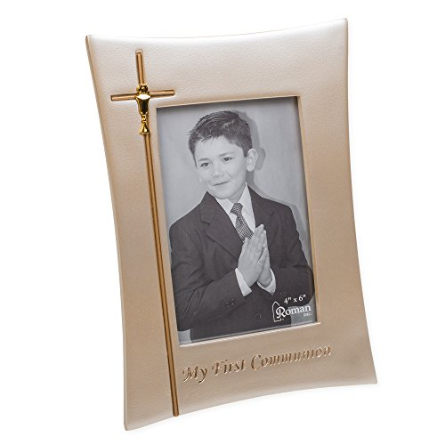 oldtone 6.5 x 9 Inch Resin Stone Easelback Picture Frame ()