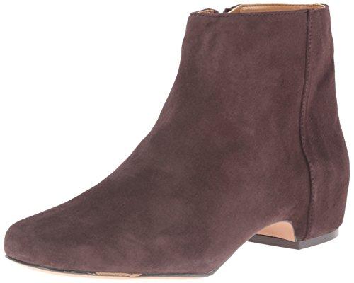 Dark Brown Boot Suede Huggins Women's Synthetic West Nine wxq4pFg1w