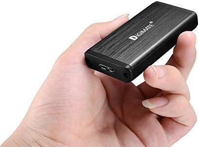 Digimate® USB 3.0 Caja de Disco Duro mSATA SSD, mSATA Externo USB ...