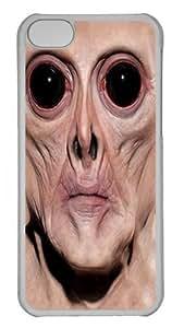 TYHde Big Face Krem Custom ipod Touch4 Case Cover Polycarbonate Transparent ending