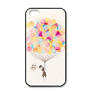 VAMVAN New Colorful Hybrid Hard Shell Plastic Back Case Cover Skin For Apple iPhone 4 4G 4S + Cleaning Cloth