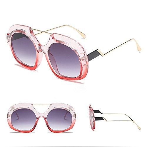 (AMOFINY Fashion Glasses Women Man Fashion Vintage Irregular Round Frame Sunglasses Eyewear Retro Unisex)
