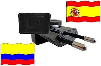 Adaptador de Viaje a España de Colombia ES - CO Enchufe de Viaje ...